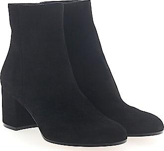 Stiefeletten Boots AUSTIN Veloursleder schwarz Gianvito Rossi UCy22y