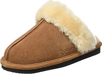 Giesswein 66/10/47129 - Zapatillas de Estar por Casa de Otra Piel Mujer, Marrón (Braun (275 Dunkelbraun)), 36 EU