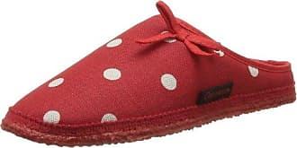 Giesswein Phoenix 59/10/42286-311 Damen Pantoffeln, Rot (rot 311), EU 42