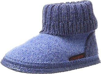 Kristiansand, Zapatillas Altas Unisex Adulto, Azul (Jeans), 45 EU Giesswein