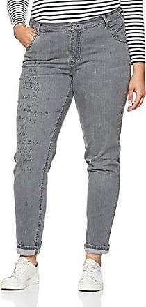 bis Größe 48, Vaqueros Slim para Mujer, Gris (Fashion Denim 94), 42