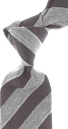 Ties On Sale, Beige Brown, Silk, 2017, one size Giorgio Armani