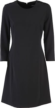 Dress for Women, Evening Cocktail Party On Sale, Black, polyester, 2017, USA 6 - IT 42 Giorgio Armani