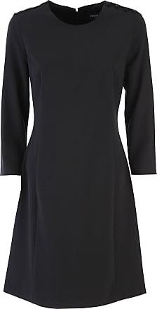 Robe Pour Les Femmes, Soirée Cocktail Fête À La Vente, Noir, Polyester, 2017, Usa 6 - 42 Il Armani Giorgio