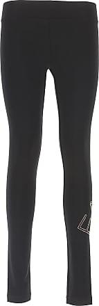 Emporio Armani Pantalones de Mujer, Pantalón Baratos en Rebajas, Negro, Algodon, 2017, 42 44