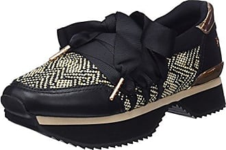 Womens 41142-p Low-Top Sneakers, Black Gioseppo