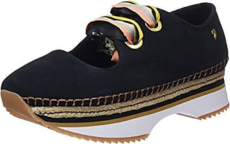 Womens 43371 Low-Top Sneakers, Black Gioseppo