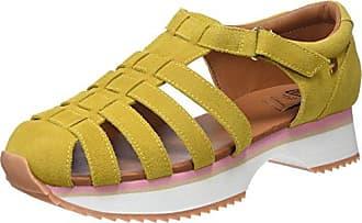 Gioseppo Damen 43393 Slip on Sneaker, Gelb (Mostaza), 39 EU
