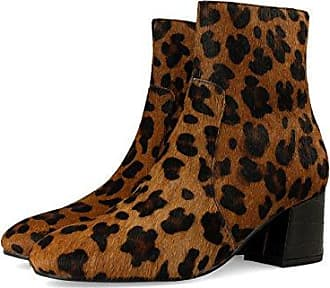 Gioseppo Luisiana, Zapatos de Cordones Brogue para Mujer, Varios Colores (Leopardo), 40 EU