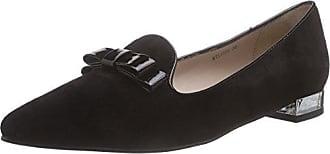Giudecca JY1509-1 - Zapatillas de casa de Piel Mujer, Color Gris, Talla 36
