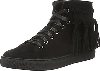 Giudecca JY1530-1 - Zapatillas de casa de Cuero Mujer, Color Negro, Talla 40