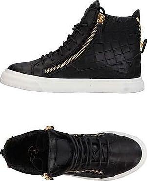 Logoball Croc-effect Leather High-top Sneakers - BlackGiuseppe Zanotti 1QQVQaHvEq