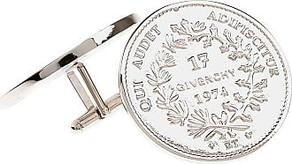 Givenchy Cufflinks for Men On Sale, Silver, Stainless Steel, 2017, one size