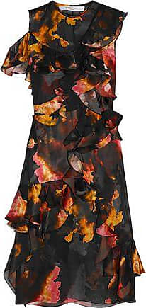 Givenchy Woman Ruffled Printed Devor n3tnWsw