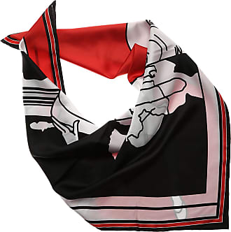 Scarf for Women On Sale, Red, Silk, 2017, Universal Size Givenchy