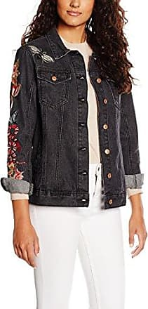 Glamorous Embroidered, Chaqueta para Mujer, Black (Black Wash), X-Small