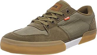 Willow, Scarpe da Skateboard Uomo, Grigio (Earth Canvas/Gum 0), 42.5 EU Globe