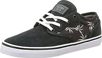 Globe Motley, Unisex-Erwachsene Sneakers, Schwarz (Night/Palms/Orange), 45 EU (10.5 Erwachsene UK)
