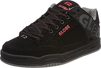 Globe Sabre, Chaussures de skateboard homme - Noir (10768 Black/Moto Green), 46 EU (11 UK) (12 US)