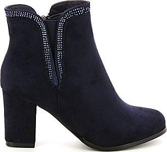 Go Tendance, Damen Stiefel & Stiefeletten , blau - blau - Größe: 36 EU