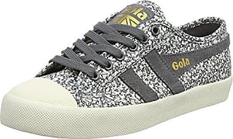 Gola Coaster Satin, Chaussures Femme, Argent (argent / Jw Blanc), 37 Eu