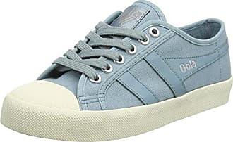 Gola Coaster Velcro, Zapatillas para Mujer, Azul (Baltic/Off White EW Blue), 38 EU