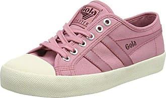Gola Coaster Satin, Zapatillas para Mujer, Rosa (Neon Pastel Pink Blk), 37 EU