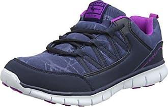 Gola Saint, Zapatillas Deportivas para Interior para Mujer, Gris (Charcoal/Blue), 39 EU