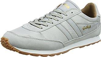 Harrier 50 Leather, Sneaker Uomo, Bianco (White/White WW White), 43 EU Gola