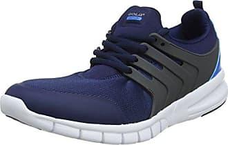 Gola Tempe, Zapatillas Deportivas para Interior para Hombre, Azul (Navy/Red Blue Ex), 45 EU