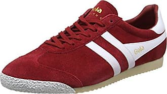 Damen Harrier 50 Suede Red/White Sneaker, Rot (Red/White RW Red), 39 EU Gola
