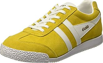 Superga 2001 Suem, Baskets Homme, Jaune (Yellow Senape 481), 43 EU