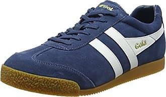 Gola Equipe Suede, Sneaker Uomo, Blu (Navy/Stone XO), 46 EU