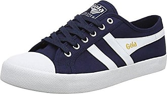 Gola Bullet Nylon Navy/White, Baskets Homme, Bleu (Navy/White Ew Blue), 42 EU
