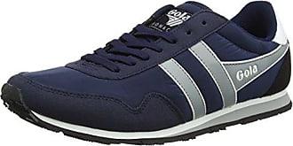 Herren Monaco Sneaker, Grau (Grey/Navy/White), 43 EU Gola
