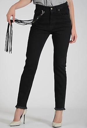 16cm Denim Jeans with Fringe Größe 28 Golden Goose