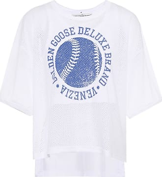 Cotton Linen T-shirt Spring/summer Golden Goose Low Price Sale Online Cheap Sale How Much Free Shipping Manchester Authentic Cheap Price lBh0m3od