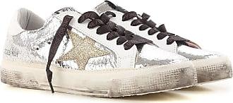 Sneaker für Damen, Tennisschuh, Turnschuh, Weiss, Leder, 2017, 35 36 37 38 40 41 Golden Goose