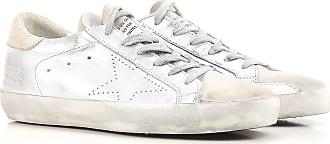 Sneaker für Damen, Tennisschuh, Turnschuh Günstig im Sale, Weiss, Leder, 2017, 35 36 Golden Goose