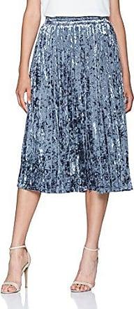 Goldie London Hazy Days - Vestido Mujer, Azul (Blue Green), S (Manufacturer Size: 36)
