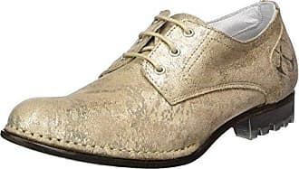 Lace Up, Derby Femme - Beige - Beige Sable, 40Xyxyx