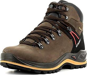 Grisport Unisex Schuhe Herren und Damen aus der Ranger Linie, Trekking- und Wanderstiefel aus hochwertigem Leder, Membrankonstruktion und Vibramsohle, Braun, 39 EU
