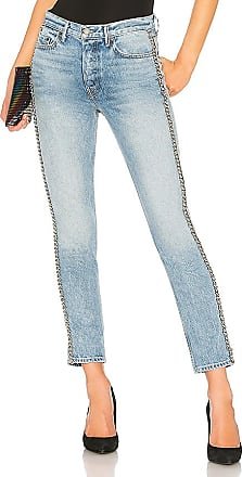 Karolina High-Rise Skinny Jean With Butt Slit. - size 26 (also in 24,25,27,28,29,30,32) GRLFRND