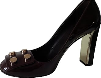Escarpins Convertibles En Cuir à Perles Synthétiques Et Logo Marmont - NoirGucci BIcdY8S