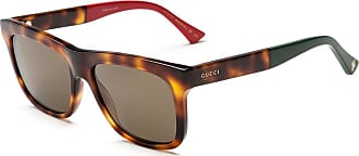 Gucci Sonnenbrille Gg0158S, UV 400, havana braun