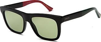 Gucci Sonnenbrille Gg0158S, UV 400, schwarz