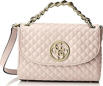Damen Bags Hobo Handgelenkstasche, Pink (Blush), 1x17x24 centimeters Guess