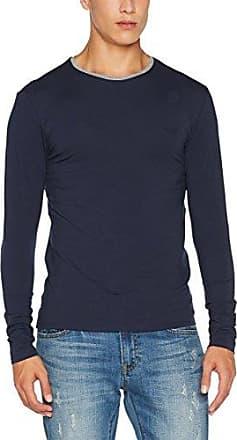 GUESS Cn LS String tee, Camiseta de Manga Larga para Hombre