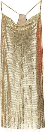 Robe Pour Les Femmes, Soirée Cocktail Fête À La Vente, L'or, Le Métal, 2017, Usa 4 - 38 Il Guess