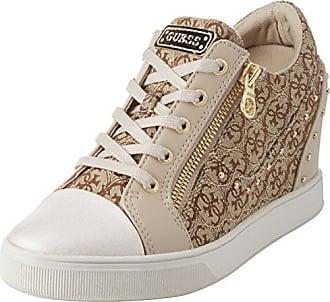 Guess Jilly Fal12 Beibr, Schuhe, Sneaker & Sportschuhe, Hohe Sneaker, Braun, Female, 37